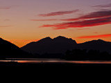 Loch Leven Sunset by biffobear, photography->sunset/rise gallery