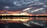 Sunset Over Center Lake by tigger3, photography->sunset/rise gallery