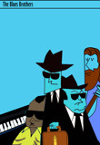 The Blues Brothers by bfrank, illustrations gallery