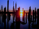 Sun come through by busybottle, Photography->Sunset/Rise gallery