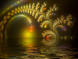 Black Pearl Sunset by tealeaves, Abstract->Fractal gallery