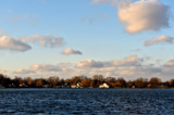 Late Afternoon Sky Over Center Lake by tigger3, photography->skies gallery