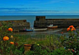 Craster Harbour by biffobear, photography->boats gallery