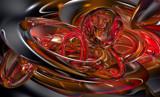 Honey Swirl by jazzilady, computer->3d gallery