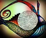 fisheye of ra by TayMoeDee, illustrations gallery