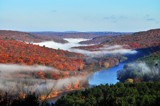 The fog rises off the delaware river by fionbharr2000, photography->landscape gallery