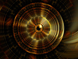 Golden Gong by razorjack51, Abstract->Fractal gallery