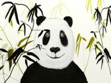 Panda Peek A Boo by bfrank, illustrations gallery