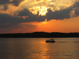 Lake Gaston 2 by ccmerino, photography->sunset/rise gallery