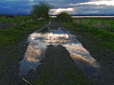 Sky Puddle by Zyrogerg, Photography->Landscape gallery