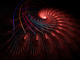 Scarlet Feelers by razorjack51, Abstract->Fractal gallery