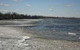 Icy Shoreline by Jimbobedsel, photography->shorelines gallery