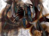 Corrupt Files by Flmngseabass, abstract gallery