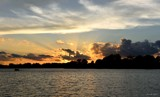 Sunset on Winona Lake by tigger3, photography->sunset/rise gallery