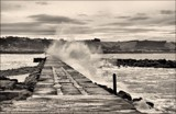 Breakwater by LynEve, contests->b/w challenge gallery