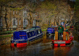 Skipton Canal by biffobear, photography->boats gallery