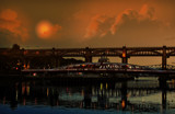 The Tyne and Night by biffobear, photography->sunset/rise gallery
