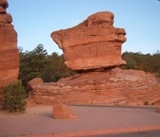 Balanced Rock and Negative Space by angelledaemon, contests->Negative Space gallery