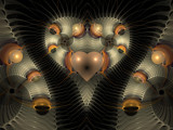 Glowing Love by razorjack51, Abstract->Fractal gallery
