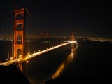 Golden Gate at Night by trisweb, Photography->Bridges gallery