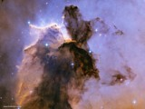 Stellar Spire in the Eagle Nebula by Crusader, space gallery