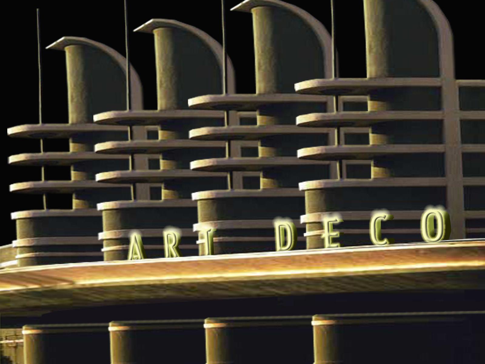Art Deco Streamline Moderne By Jhihmoac Caedes Desktop Wallpaper