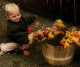 Flower Girl by phasmid, photography->people gallery