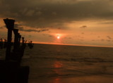 Sunset at Calicut beach. by sahadk, photography->sunset/rise gallery