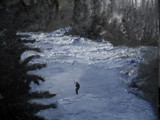 Fishing on the Nooksack - the painting by rotcivski, Photography->Landscape gallery