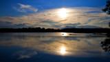 Image: Hiding evening sun