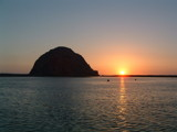 Morro Rock Sunset by rudinski852, Photography->Sunset/Rise gallery