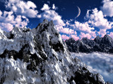 Among the Clouds by ryzst, Computer->Landscape gallery