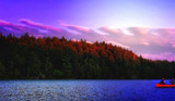 Canoeing at Algonquin Park by mesmerized, photography->nature gallery