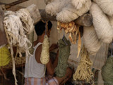 Hand made carpets in the back streets of Jaipur by silicon, Photography->People gallery