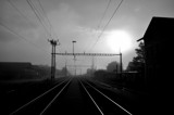 my trainstation by ro_and, contests->b/w challenge gallery