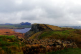 Crag Lough and Peel Crag by biffobear, photography->landscape gallery