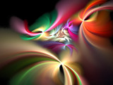 Rainbow Rose by jswgpb, Abstract->Fractal gallery