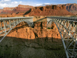 sunrise at navajo bridge by jeenie11, Photography->Bridges gallery