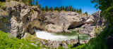 Natural Bridge Falls and the Boulder River by Pistos, photography->waterfalls gallery