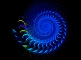 Sporadic Spiral by razorjack51, Abstract->Fractal gallery