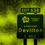 AU Road Signs - Exit 638 by Jhihmoac, illustrations->digital gallery