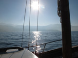 Sun on the sea ... by Vickid, photography->boats gallery