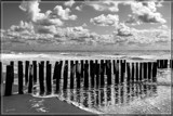 Beach, Sea, And Sky by corngrowth, contests->b/w challenge gallery