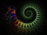 Infinite Serpent Spiral by razorjack51, Abstract->Fractal gallery