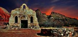Chapel in a Desert Sunset by snapshooter87, rework gallery
