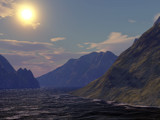 Picturesque Sunset by timw4mail, computer->landscape gallery
