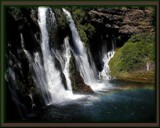 burney falls rainbow by ladyhawk53, Photography->Waterfalls gallery