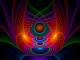Neon Wraparounds by razorjack51, Abstract->Fractal gallery