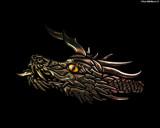 Gold Dragon by artytoit, Illustrations->Digital gallery