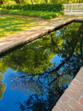 Reflections in Hopeland Gardens by Pistos, photography->architecture gallery